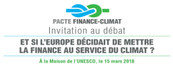 Pacte Finance-Climat à l'UNESCO