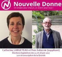Nouvelle Donne dans la 12<sup>e</sup> circonscription de la Gironde