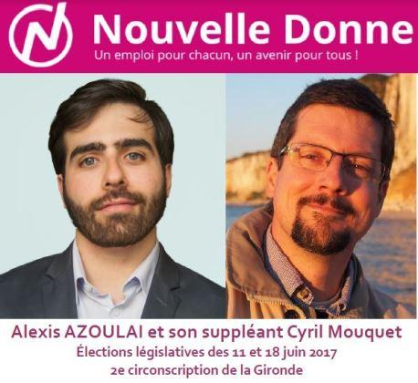 Nouvelle Donne dans la 2<sup>e</sup> circonscription de Gironde