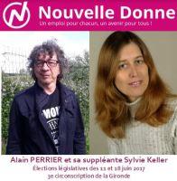 Nouvelle Donne dans la 3<sup>e</sup> circonscription de la Gironde