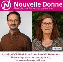 Nouvelle Donne dans la 9<sup>e</sup> circonscription de la Gironde