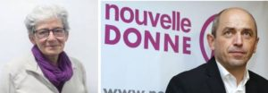 Anne Hessel et Pierre Larrouturou, eurodéputé, soutiennent Isabelle Rami et la liste Talence en transition